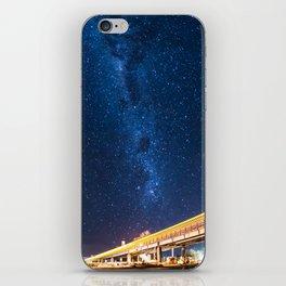Milky Way Bridge iPhone Skin