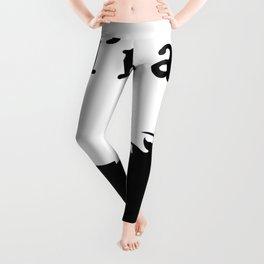 I'm a Unicorn Photo Black Leggings