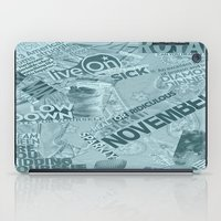 college iPad Cases featuring college  by MadCat