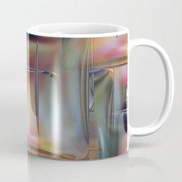 Mirrored Metallic Tile Coffee Mug