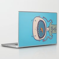 rock and roll Laptop & iPad Skins featuring Rock & Roll by Molly Yllom Shop