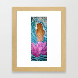 Discovery of Self Framed Art Print