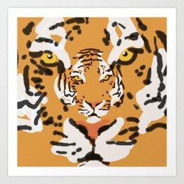 2Tigers Art Print