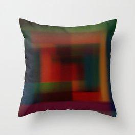 Blured squares Throw Pillow
