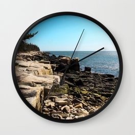 Tranquil  Schoodic Wall Clock