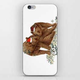 christmas bears iPhone Skin