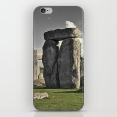 moon henge... iPhone & iPod Skin