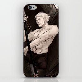 Nero Angelo iPhone Skin