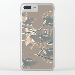 Silvia Sylvatica Clear iPhone Case