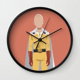 Saitama basic great1 Wall Clock