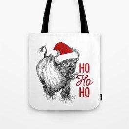 Christmas Buffalo Tote Bag