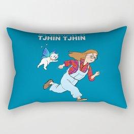 The Adventures of Tjhin Tjhin Rectangular Pillow