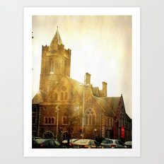Church Time! Art Print