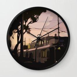 N Line, San Francisco  Wall Clock