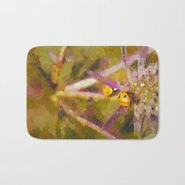Ladybirds on Sea Holly Bath Mat