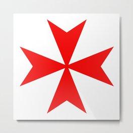 malta knights cross Metal Print