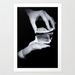Magic Hands Art Print