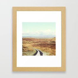 The Road Framed Art Print