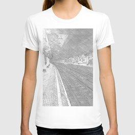 Temple Station London 4 T-shirt
