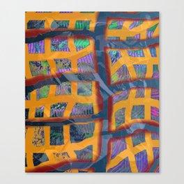 Yellow Line Canvas Print