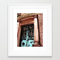 doors Framed Art Prints featuring Doors by Kayla Kristine
