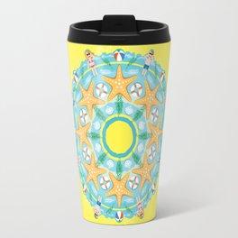 summer heat mandala Travel Mug