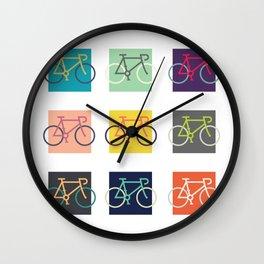 Lets go ride bikes! Wall Clock