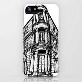 Gringotts Bank iPhone Case