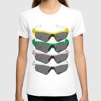 tour de france T-shirts featuring Tour de France Glasses by Pedlin