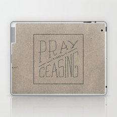 Pray Without Ceasing Laptop & iPad Skin