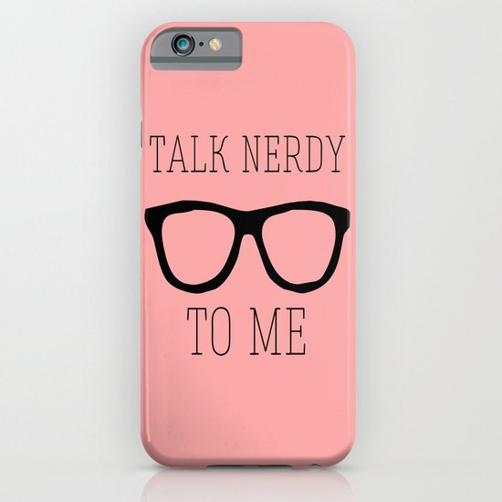 Talk nerdy to me iPhone & iPod Case