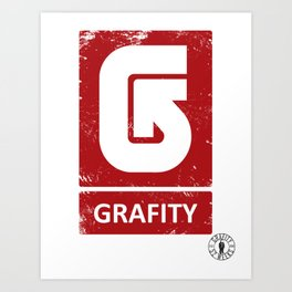 Burton Grafity Art Print