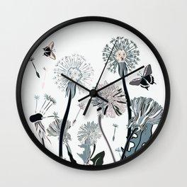 flowers spring Wall Clock