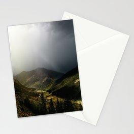 Mountain Rain Stationery Cards