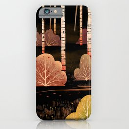 Footsteps in the Dark iPhone Case