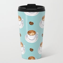 Coffee Cups - mint blue Travel Mug