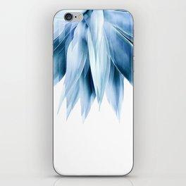 Agave geo fringe - blue iPhone Skin