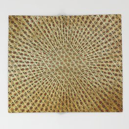 Radiating Stars Throw Blanket