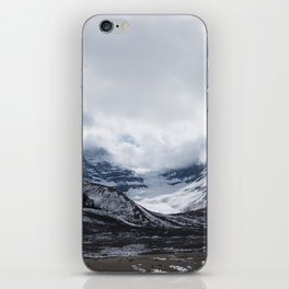 Jasper Glaciers   Landscape Photography   Mountains and Clouds   Skyscape iPhone Skin