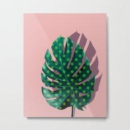 Tropical Leaf #01 Metal Print