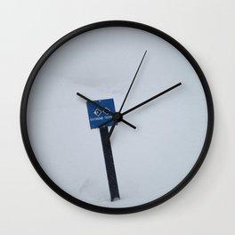 Extreme Terrain Wall Clock