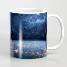 Earth and Galaxy Mug