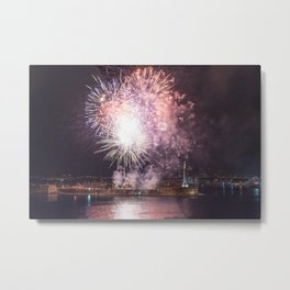 Fireworks of August 15th Metal Print