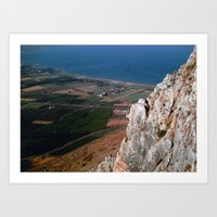 israel Art Prints featuring Israel by Loved and Lost