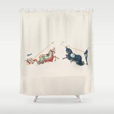 Foul! Shower Curtain