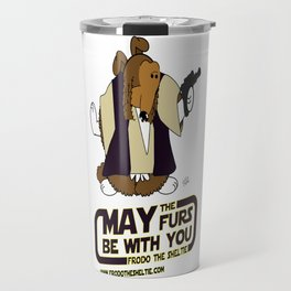 Frod0 the Sheltie: May the Furs Be With You (Frod0) Travel Mug
