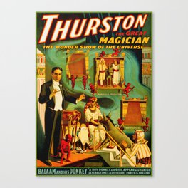 Thurston The Great Magician - Egypt Canvas Print