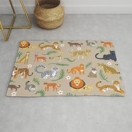 Exotic Cats Rug