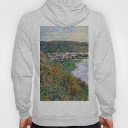 "Claude Monet ""View of Vétheuil"", 1880 Hoody"