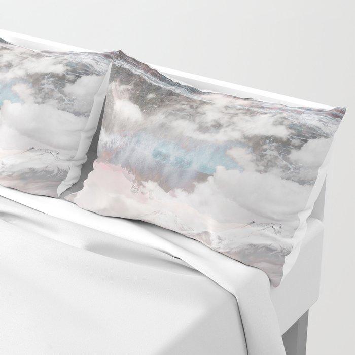 Crashing Clouds Pillow Sham